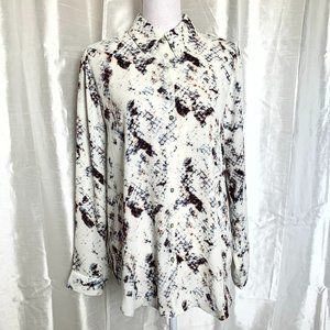 PRETTY PRINT BLOUSE   LARGE
